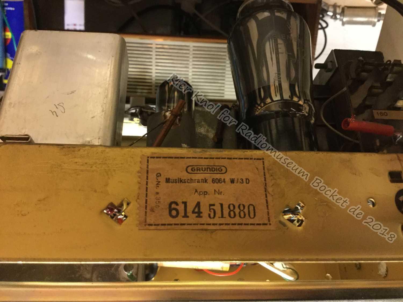 Grundig Musikschrank 6064W-3D – Radiomuseum-bocket.de