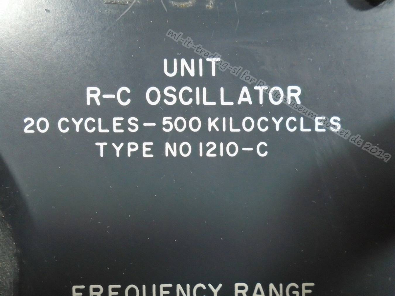 General Radio Unit R-C Oscillator Type NO 1210-C ml-it-trading-sl 2019 2.jpg