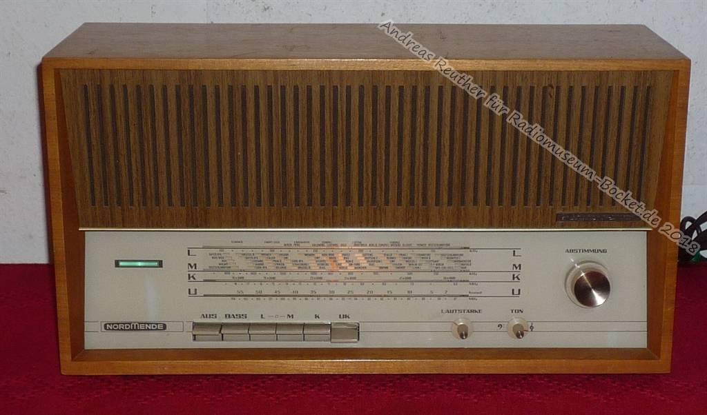Rigoletto nordmende Antique Radio