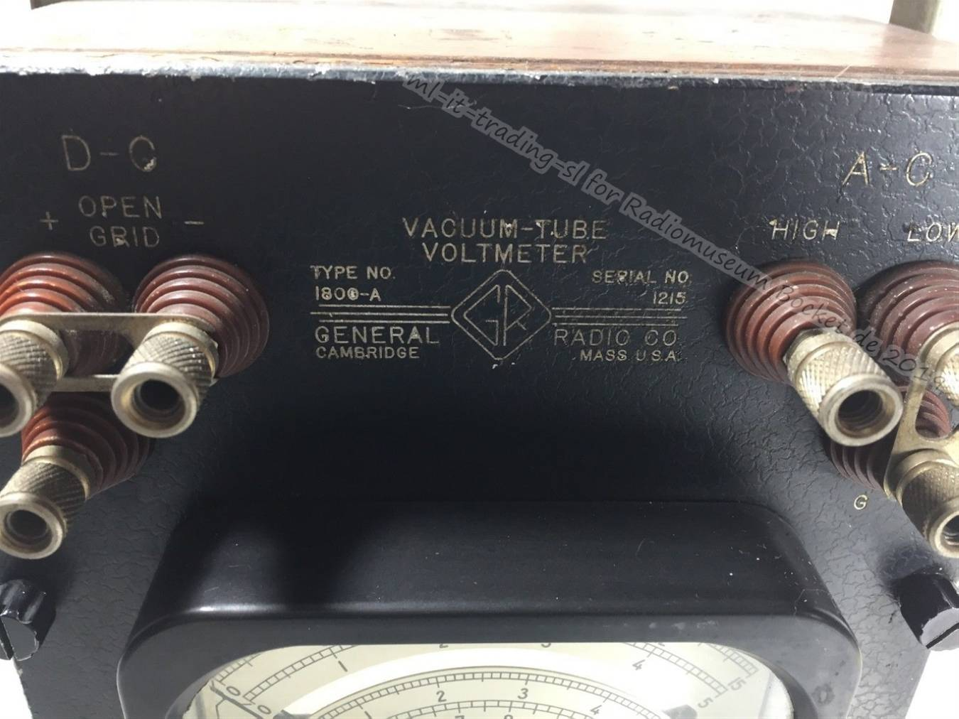General Radio VACUUM TUBE VOLTMETER 1800-A ml-it-trading-sl 2019 3.jpg